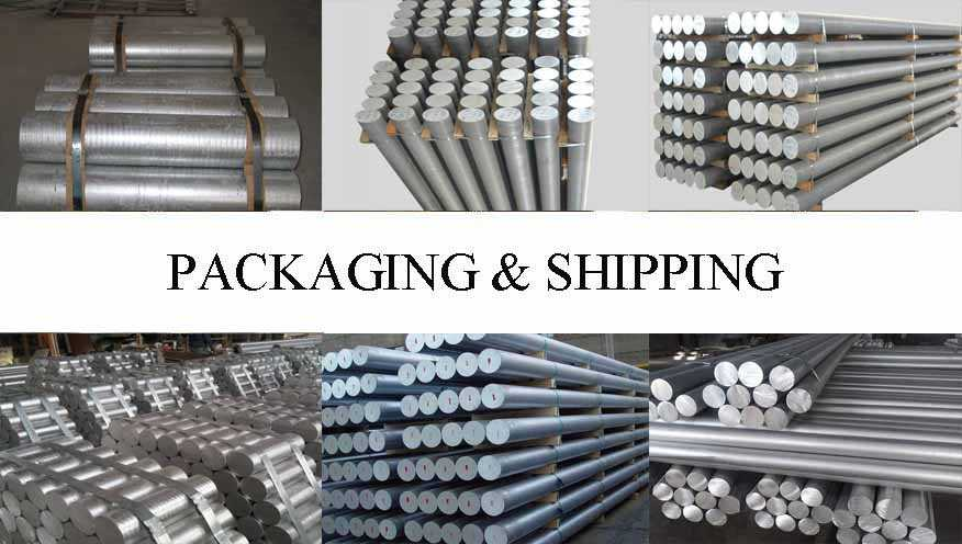 Packaging & Shipping of Aluminum Rod