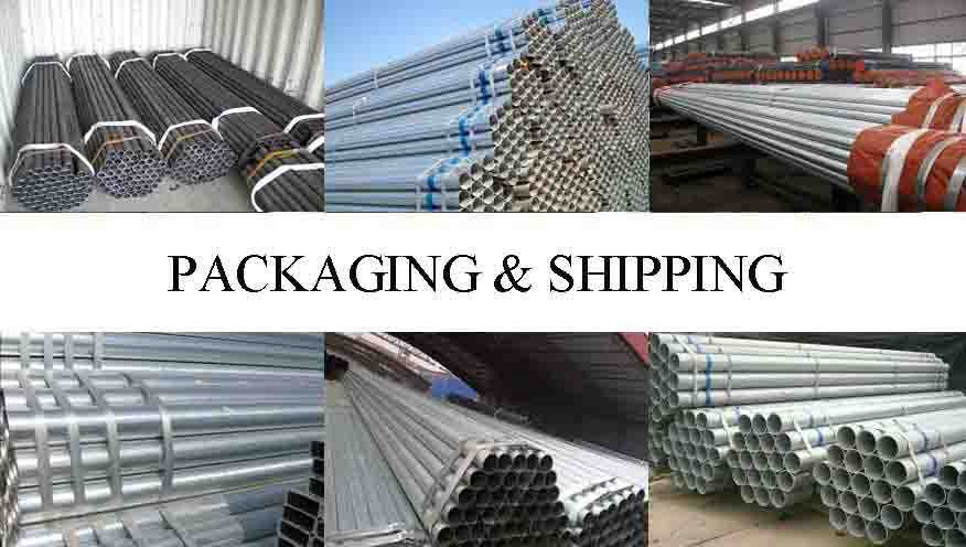 PACKAGING AND SHIPPING OF Scaffolding pipe for ringlock scaffold with reasonable price