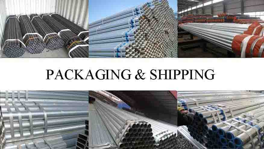 PACKAGING AND SHIPPING OF single pipe scaffolding in different types