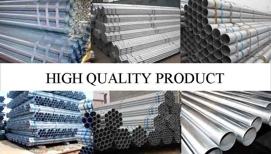 HIGH QUALITY PRODUCT OF Galvanized scaffolding tube from factory