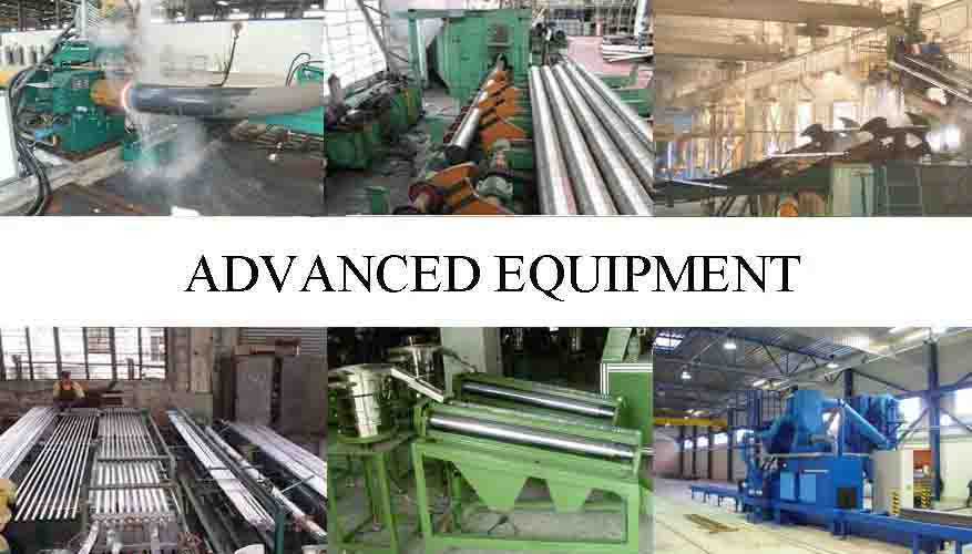 ADVANCE EQUIPMENT OF Galvanized scaffolding tube from factory