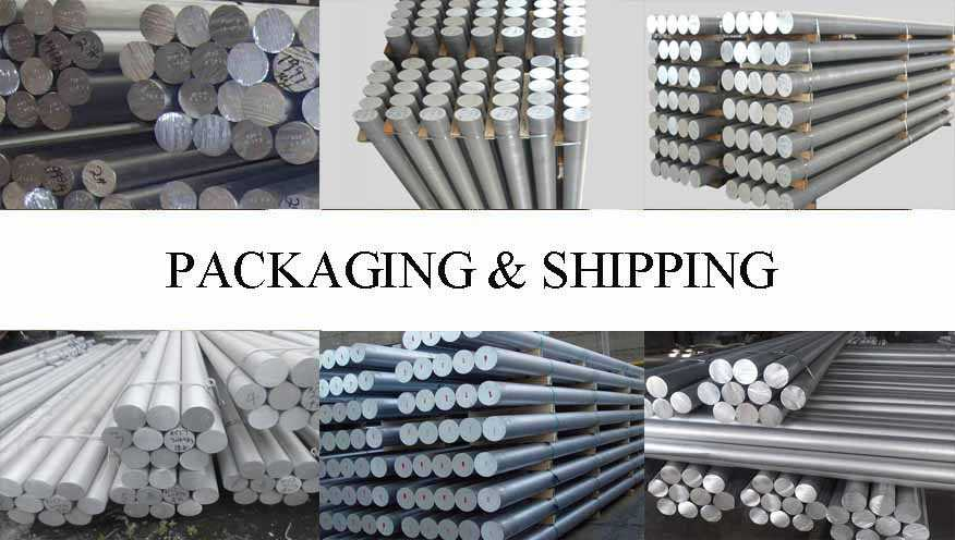 Packaging & Shipping of cheap price Aluminum Rod made in China