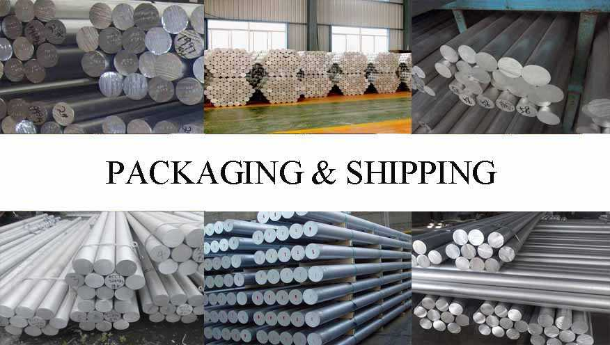 Packaging & Shipping of Aluminum Rod For Aerospace Applications