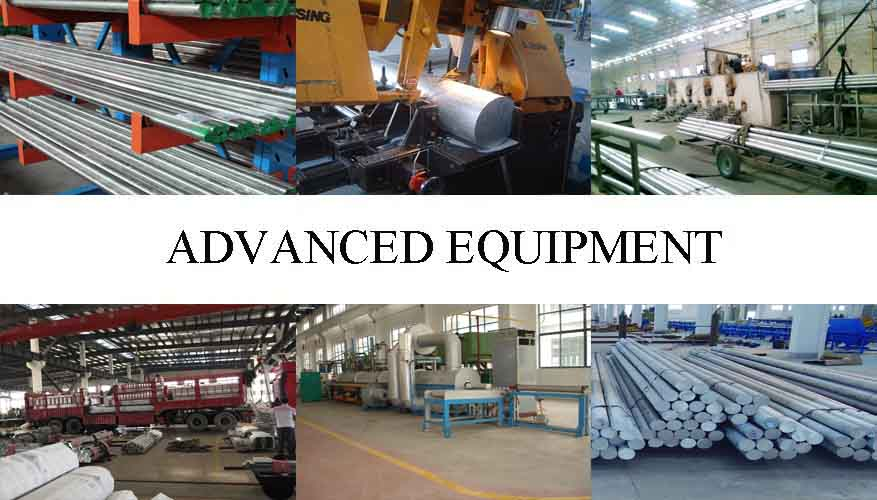Equipment of Aluminum Rod For Aerospace Applications