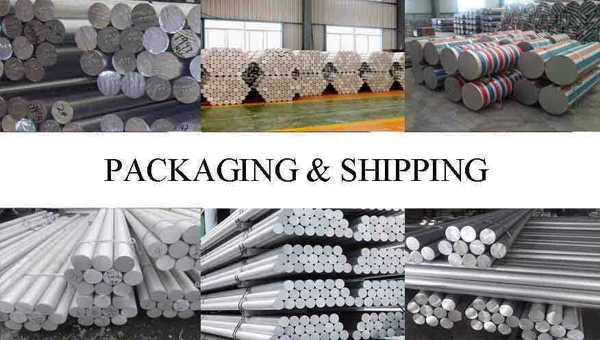 Packaging & Shipping of High quality Aluminum Rod factory price