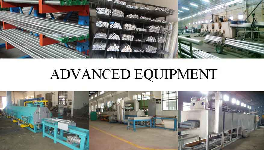 Equipment of Professional supplier Aluminum rod in China