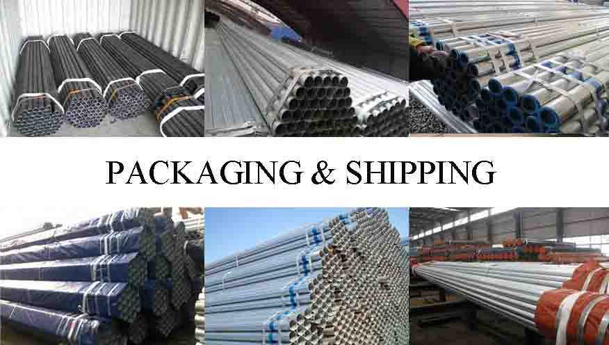 PACKAGING AND SHIPPING OF HOT sale Scaffolding pipe for Construction