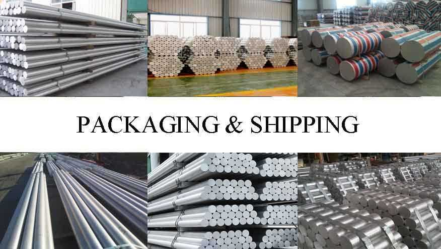 Packaging & Shipping of High quality Aluminum Rod with cheap price
