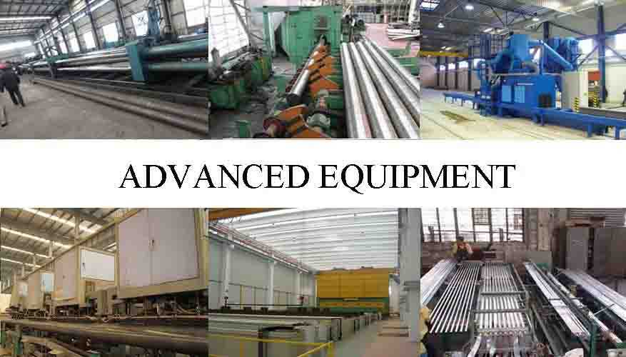 ADVANCE EQUIPMENT OF Iron pipe scaffolding with high quality and low price made in China