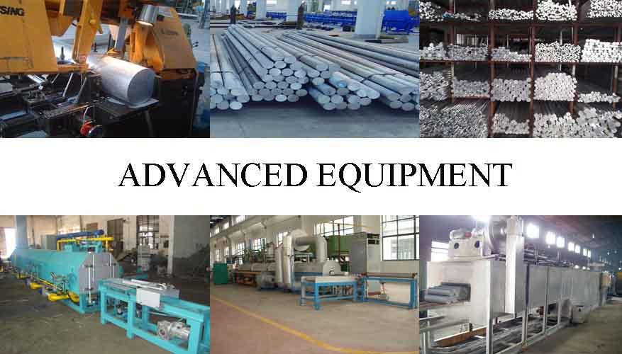 Equipment of Aluminium BAR Supplier in China