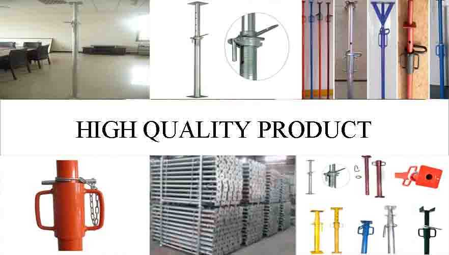 High quality product of scaffolding steel shoring prop from factory
