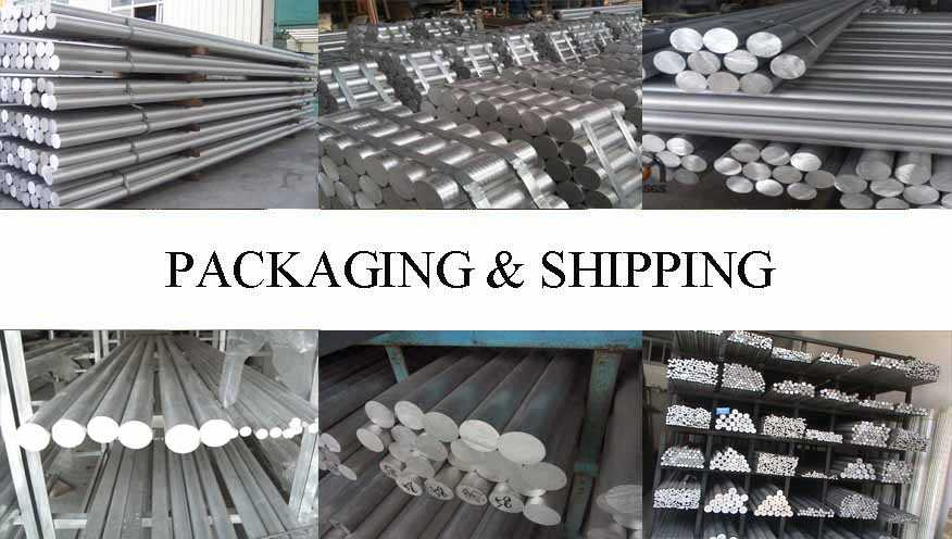Packaging & Shipping of Aluminium BAR Supplier in China