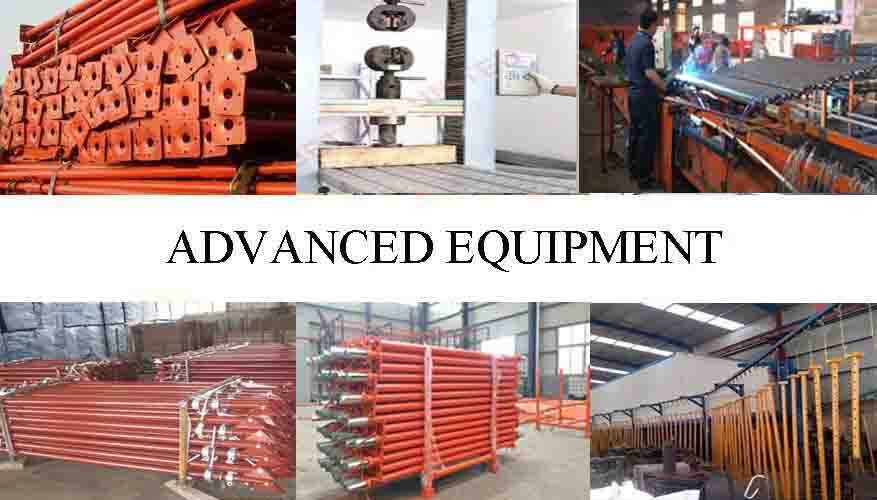 Advanced equirement of scaffolding steel shoring prop from factory