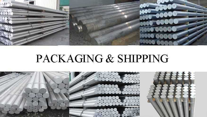Packaging & Shipping of Aluminum Rod For Transportation