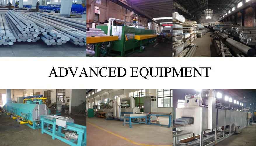 Equipment of Aluminum Rod For Building