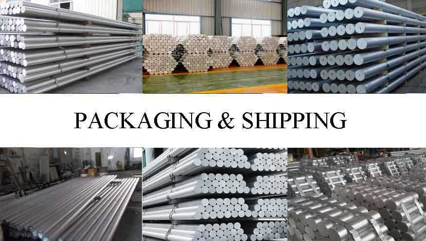 Packaging & Shipping of Aluminum Rod For Building