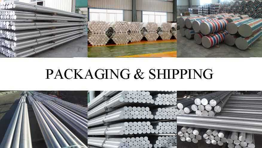 Packaging & Shipping of Professional supplier Aluminum rod in China