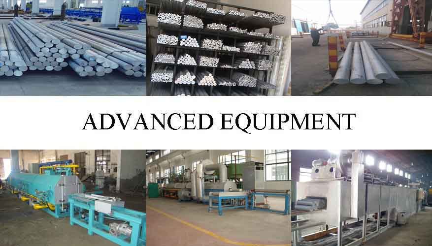 Equipment of High quality Aluminum Rod factory price