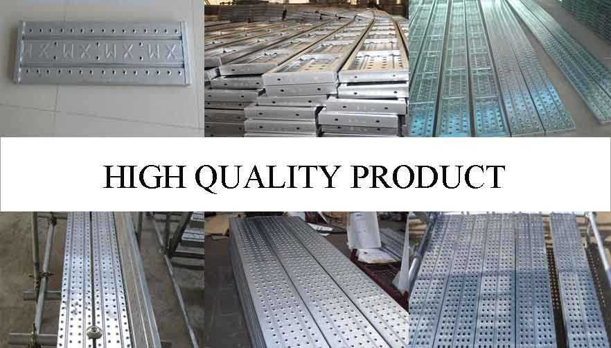 High quality product of scaffolding steel planks used for construction made in china