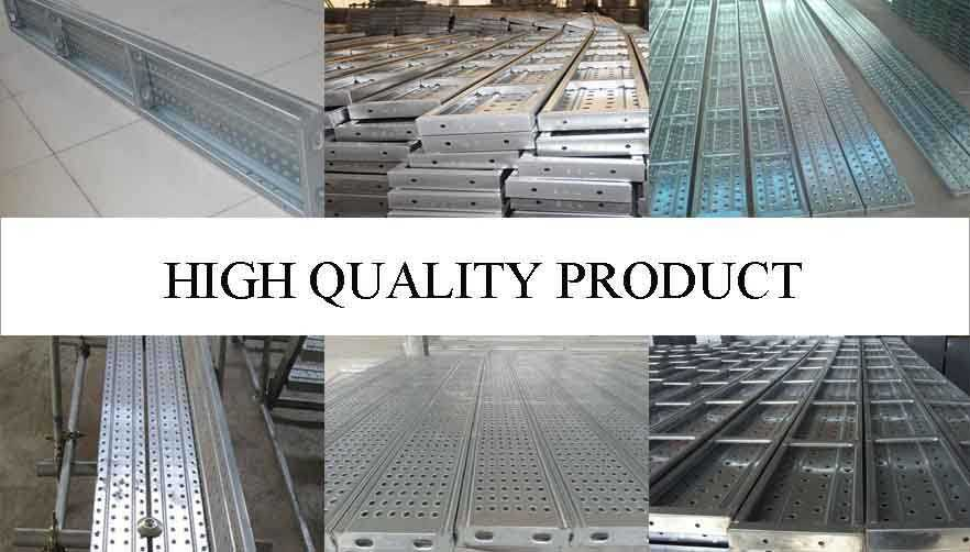 High quality product of used scaffolding steelplanks made in china