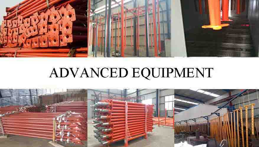 Advanced equiremengt of  High quality adjustable telescopic steel prop with reasonable price for sale