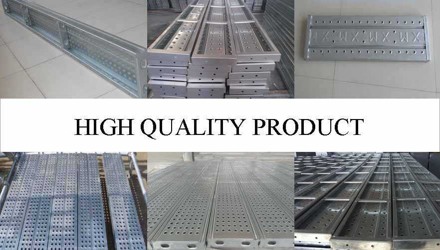 High quality product of scaffolding steel planks used for construction