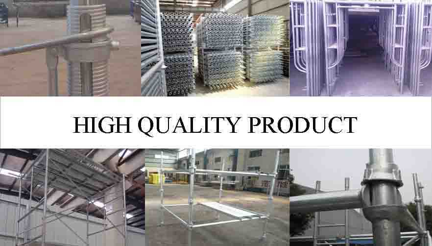 High quality product of Reasonable price  Scaffolding System Manufacturer  in Nigeria