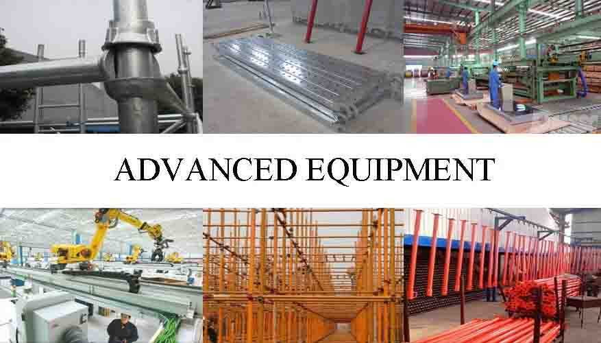 Advanced equipment of Scaffolding Supplier in China