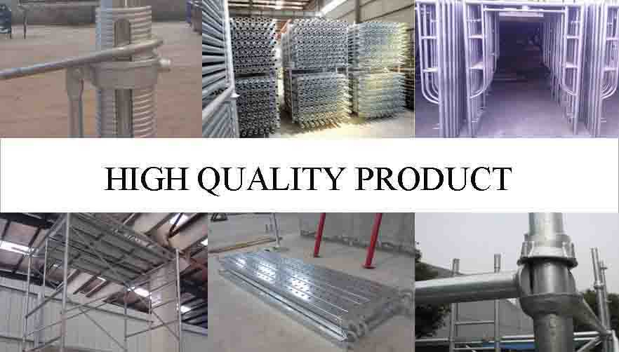 High quality product of High quality and hot sale frame scaffolding system made in China