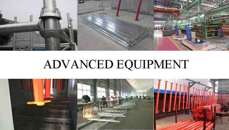 Advanced equipment of High quality and hot sale frame scaffolding system made in China
