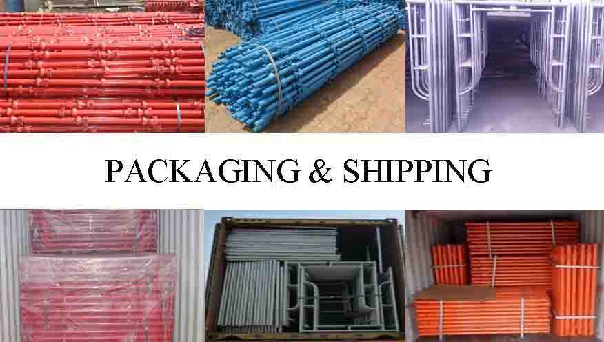 Packaging and shipping of High quality and hot sale frame scaffolding system made in China