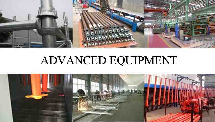 Advanced equipment of best product movable scaffolding system in China