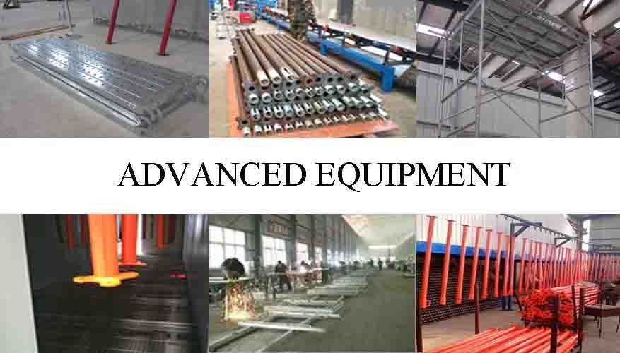 Advanced equipment of Price lowered of Q235 scaffolding system china factory