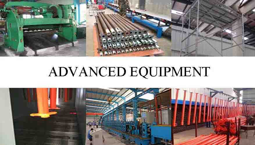 Advanced equipment of Provider of all round scaffolding system in China