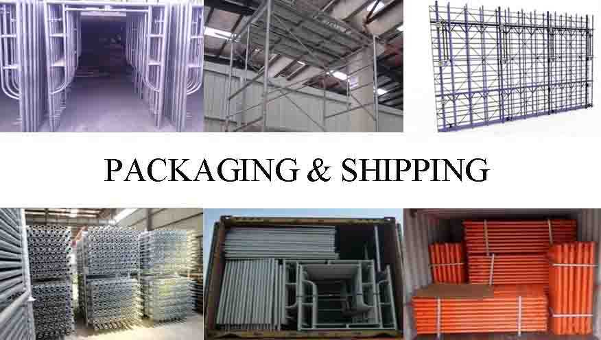 Packaging and shipping of Provider of all round scaffolding system in China