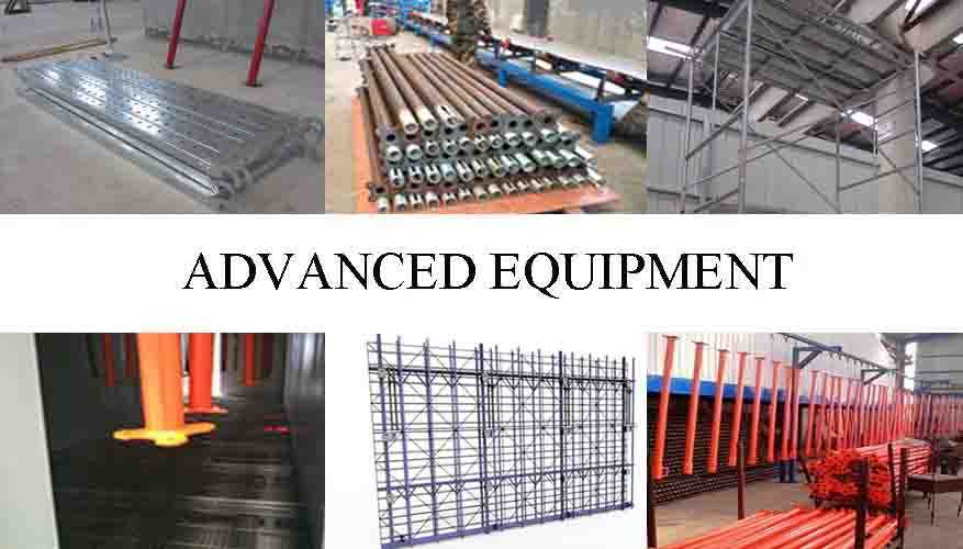 Advanced equipment of scaffolding frame system Q195,Q215,Q235 made in China