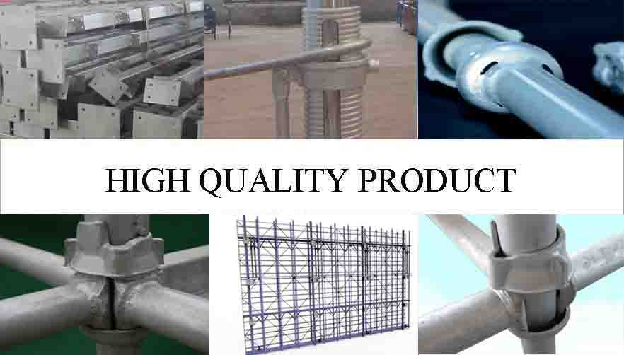 High quality product of types of scaffolding system with high quality and low price