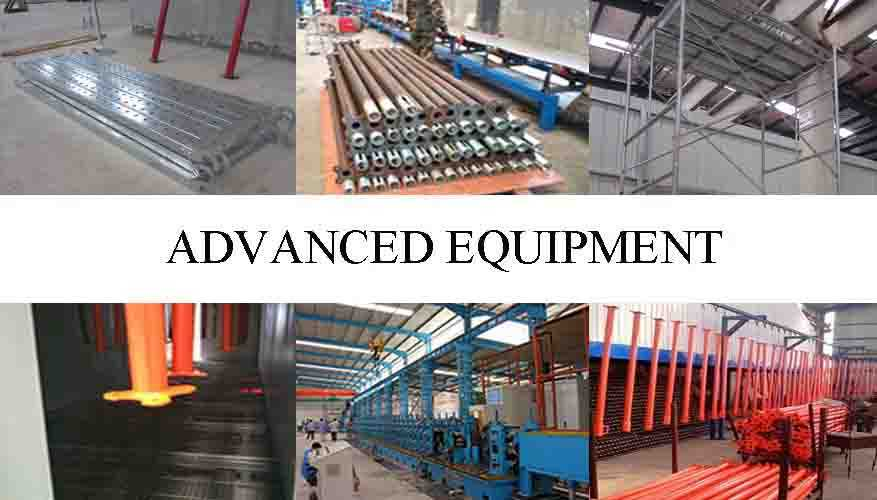 Advanced equipment of types of scaffolding system with high quality and low price