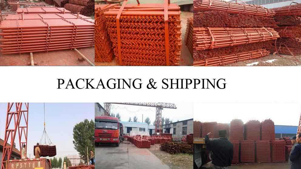Packaging and shipping of High quality Types of scaffolding