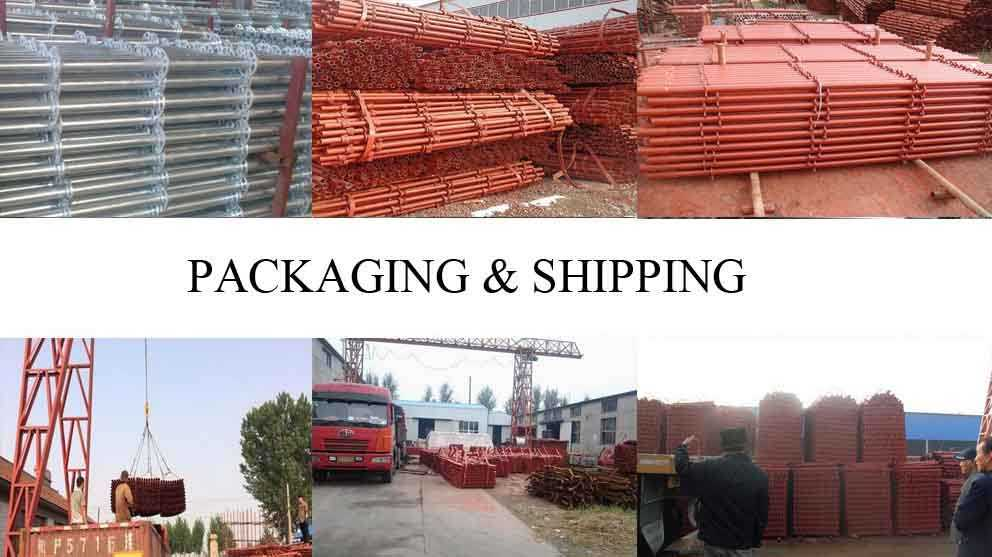 Packaging and shipping of Hot slae Structural scaffolding with the low price