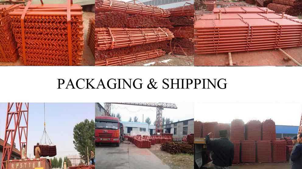 Packaging and shipping of high quality easy scaffolding for sale