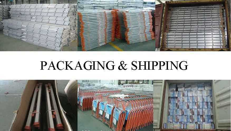 packing&shipping of aluminium ladder scaffolding wholesale from factory