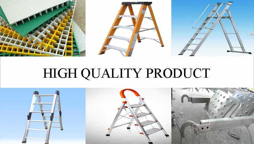 high quality product of aluminium ladder scaffolding wholesale from factory