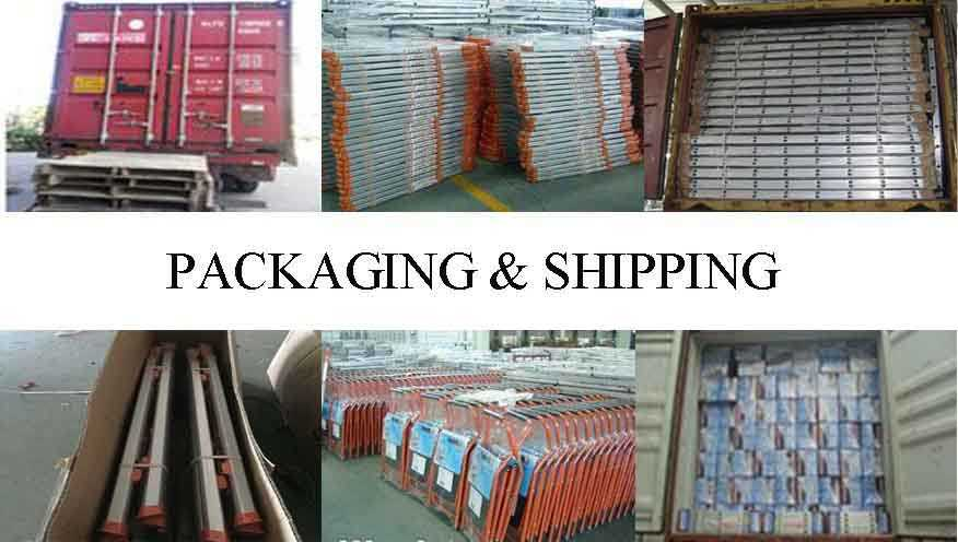 packing&shipping of ladder frame scaffolding in different types