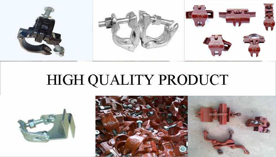 High quality product of scaffolding pressed coupler manufactruer