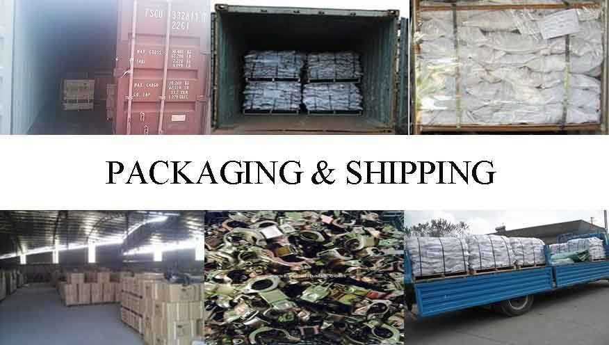 Packaging and shipping of scaffolding pipe coupler in china