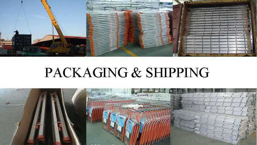 packing&shipping of Production of  scaffolding monkey ladder in chinese factory