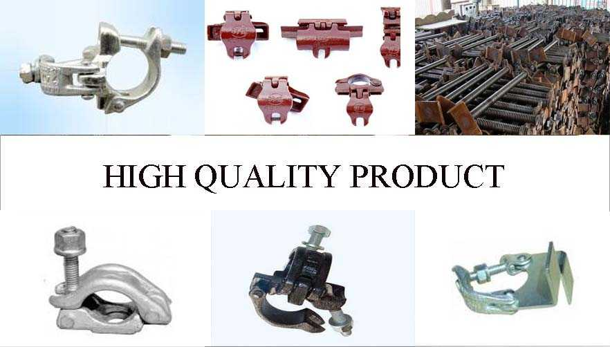 High quality product of durable in use of scaffolding clamp coupler supplier in China