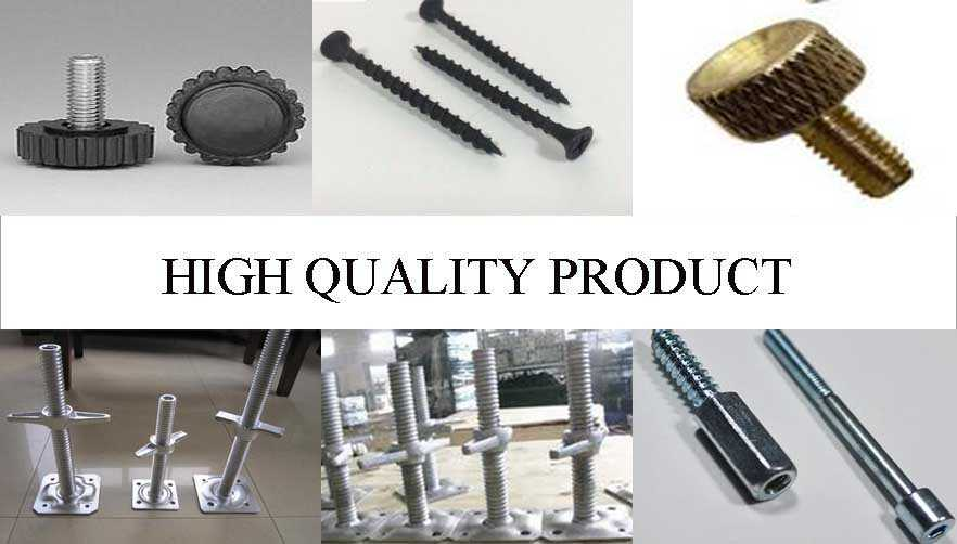 high quality product of fastener screw with reliable quality and low price