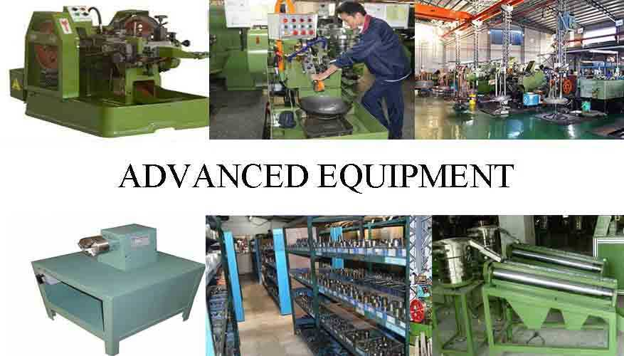 advanced equipment of fastener screw with reliable quality and low price